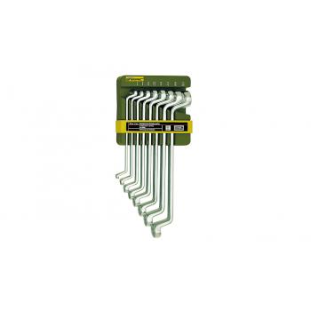 Набор накидных гаечных ключей Slim-Line из 8 штук в держателе