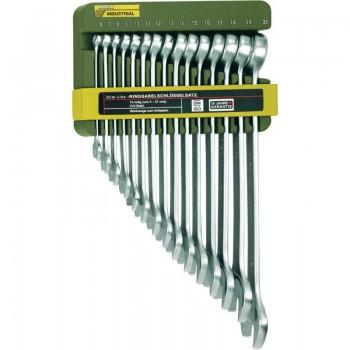 Набор комбинированных гаечных ключей Slim- Line из 15 штук в держателе PROXXON