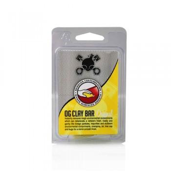 Синтетическая глина для удаления легких и средних загрязнений CHEMICAL GUYS OG CLAY BAR YELLOW CLY_400