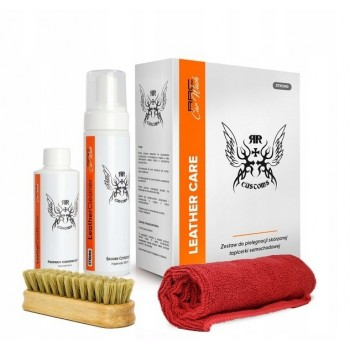 Набор для щадящей чистки кожи RRC CAR WASH LEATHER CLEANER SOFT BOX