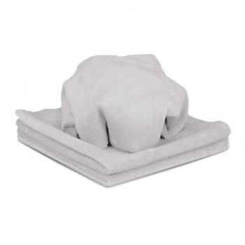 Микрофибровая полировальная салфетка Koch Chemie оверлочная серая 40 × 40 см