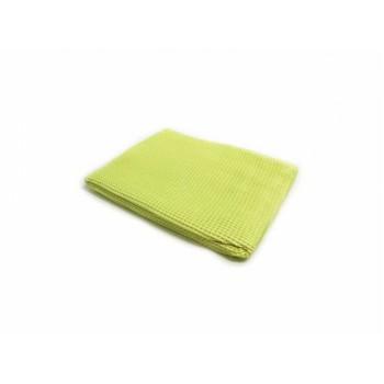 Микрофибра вафельная  MONSTER SHINE 56х76 см  жёлтая