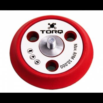 Полировочная подложка для полировальной машинки  TORQ R5 DUAL-ACTION RED BACKING PLATE WITH ADVANCED HYPER FLEX TECHNOLOGY  BUFLC_200