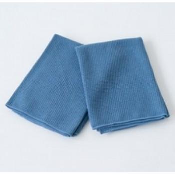 Вафельная микроволоконная салфетка Koch Chemie 80 × 55 см синяя