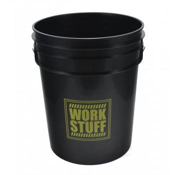 Ведро для мойки автомобилей 20 литров черное WORK STUFF
