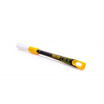 Кисточка WORK STUFF RUBBER ALBINO 16 мм с микротонкой щетиной и резиновой ручкой