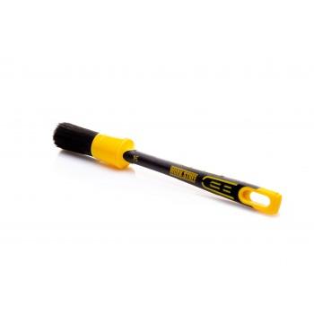 Кисточка WORK STUFF BLACK с прочной щетиной  и резиновой ручкой для стойких загрязнений  30 мм
